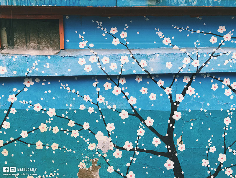 大邱咖啡店 金光石路壁畫