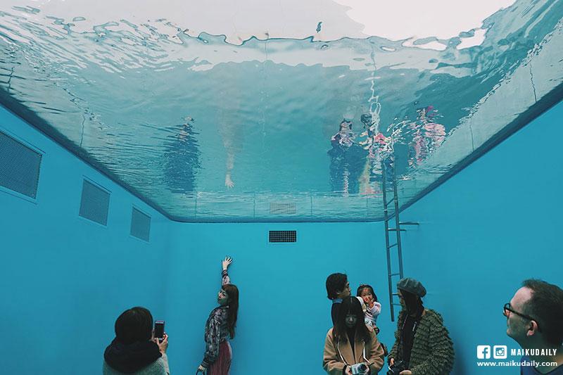 金澤21世紀美術館 泳池