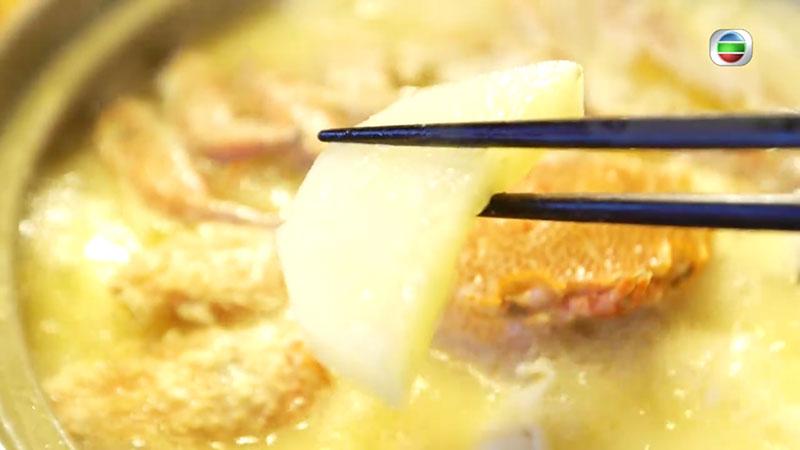無綫 周遊東京 北海道毛蟹蘿蔔湯蟹鍋