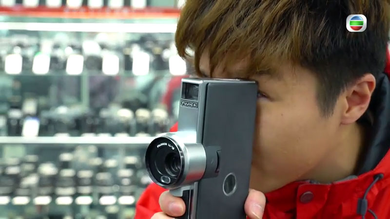 無綫 周遊東京 新宿二手相機店