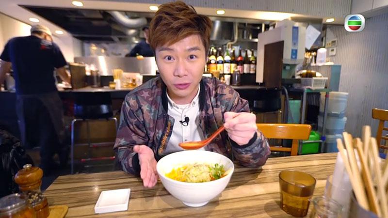 無綫 周遊東京 素食 蔬菜拉麵