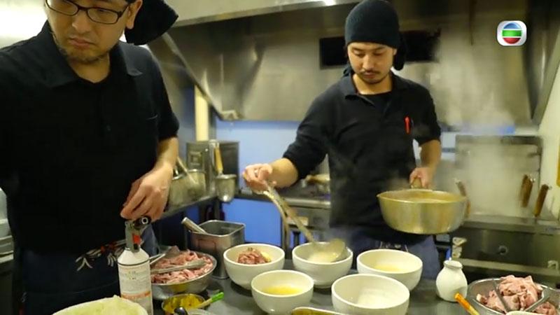 無綫 周遊東京 真鯛魚拉麵