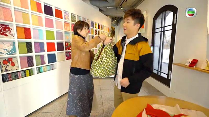無綫 周遊東京 實用風呂敷 手信 包禮物 環保袋