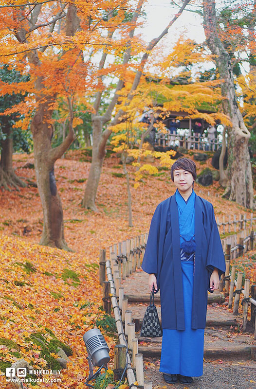 兼六園 賞楓 金澤景點 日本三大名園 東茶屋街散策