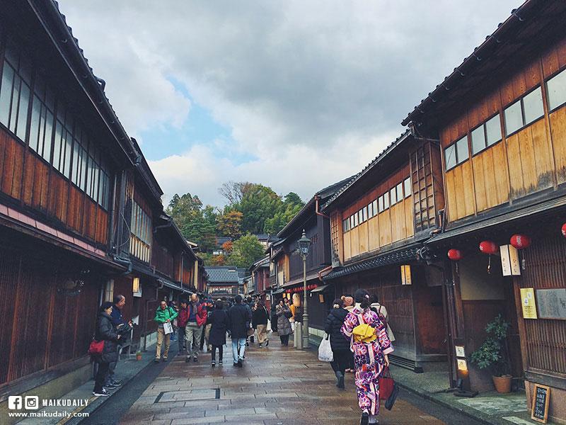 兼六園 賞楓 金澤景點 東茶屋街散策