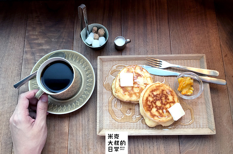 北浜Alley cafe kamomeya 香川 高松 咖啡店 鬆餅