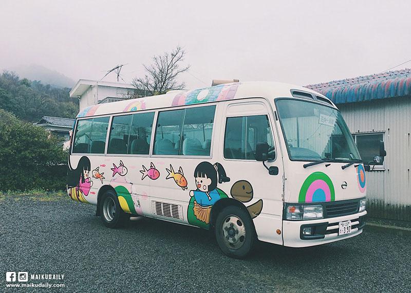 紫雲出山交通 賞櫻 巴士