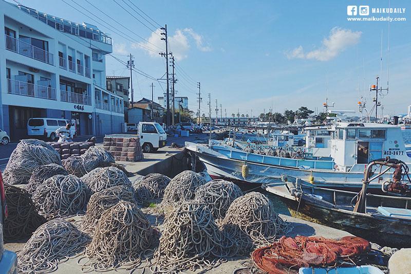 日間賀島漁民生活