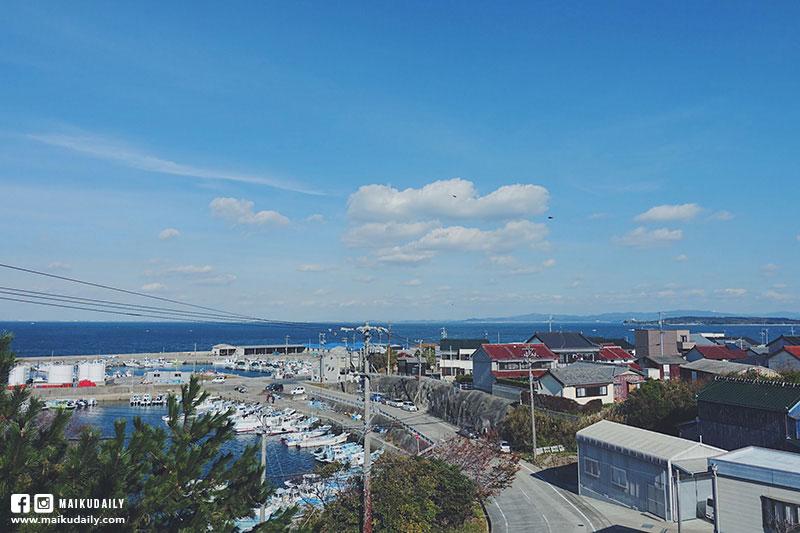 日間賀島資料館頂樓