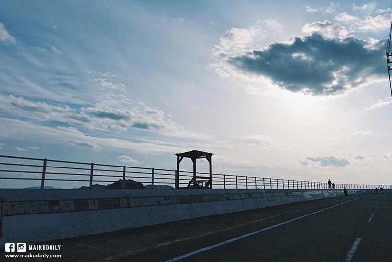 日間賀島 海邊景色