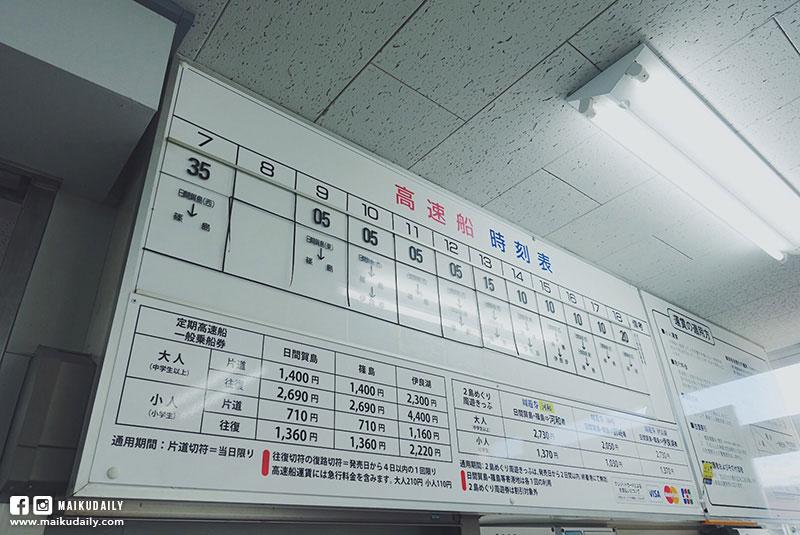 名古屋到日間賀島交通 河和港