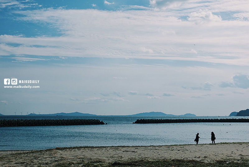 日間賀島海灘