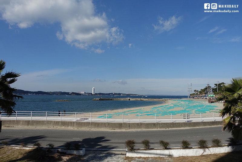日間賀島海景色