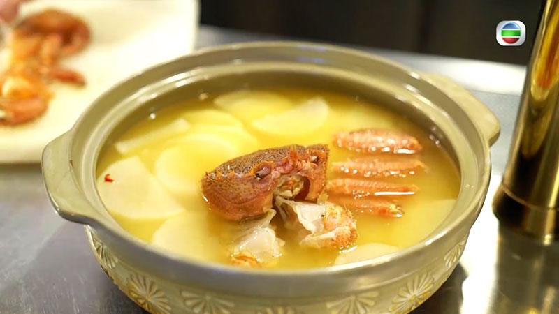 無綫 周遊東京 北海道毛蟹蘿蔔鍋