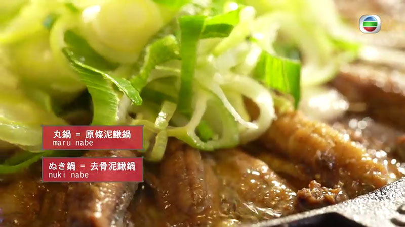 無綫 周遊東京 飯田屋泥鰍鍋