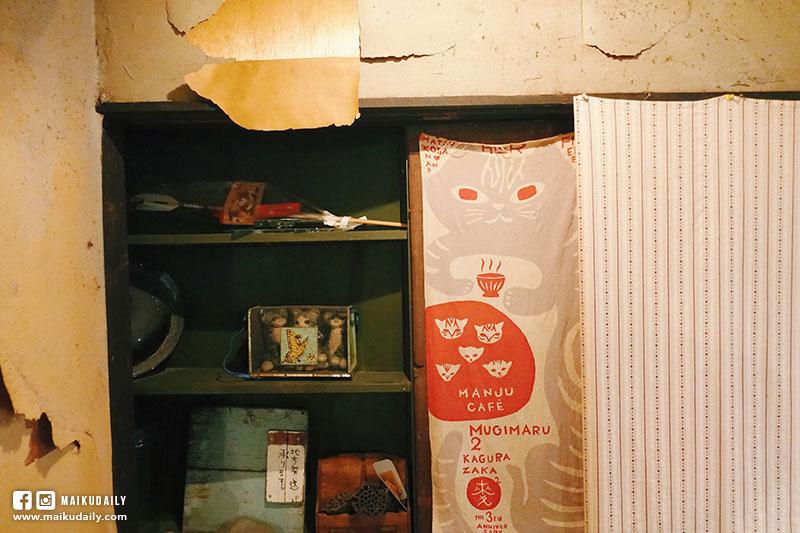 神樂坂 貓Cafe【東京貓旅行】隱身市區秘密花園 宮崎駿世界般的神秘小店