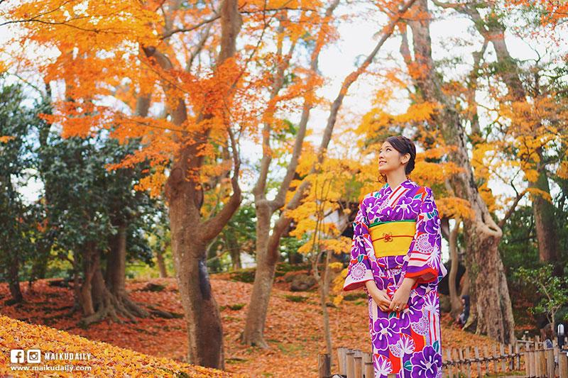 金澤 和服體驗 漫步小京都 兼六園 金沢きもの花恋
