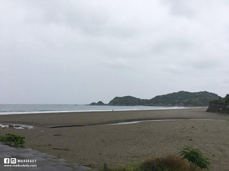 四國遍路 高知縣 無盡海岸線的初日 生見海岸