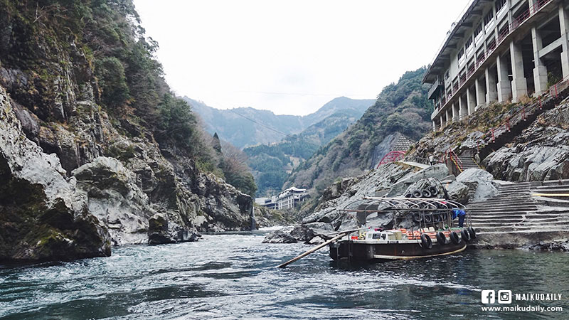 大步危 遊覽船 德島 日本三大秘境 三好市