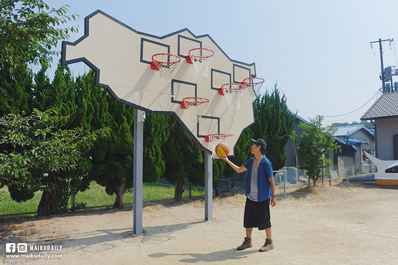 豐島 瀨戶內海藝術祭 跳島遊 香川縣 無人勝出 多重籃框 Llobet & Pons