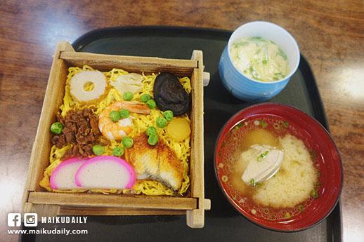松江美食 浪花壽司 熱食蒸壽司