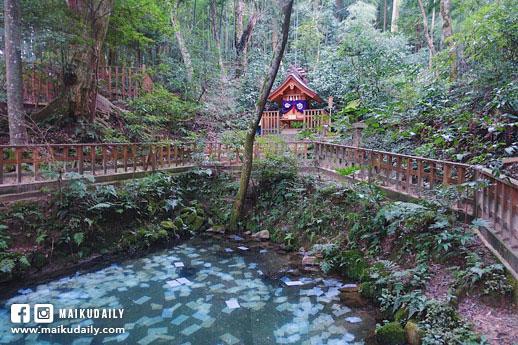 松江 八重垣神社 鏡之池