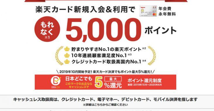 日本樂天信用卡申請