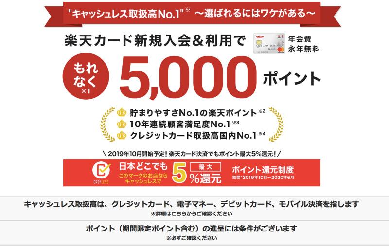日本信用卡 申請 樂天信用卡