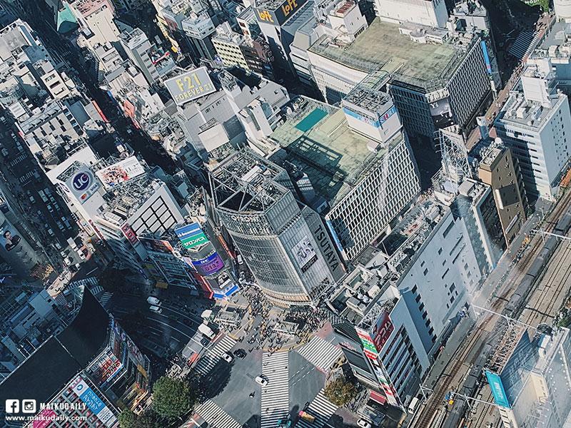 澀谷Shibuya Sky 十字路口