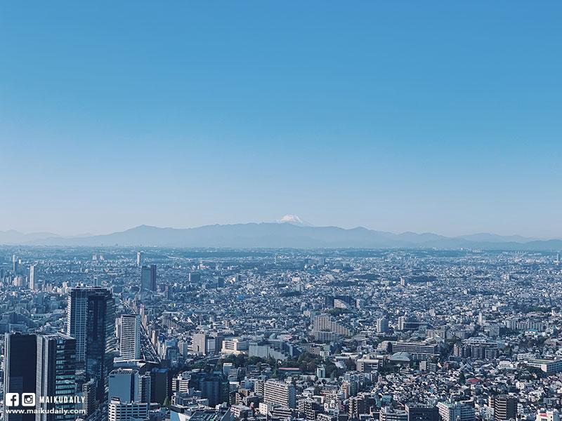 澀谷Shibuya Sky 富士山